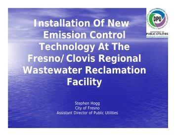 Fresno/Clovis Regional Wastewater Reclamation Facility