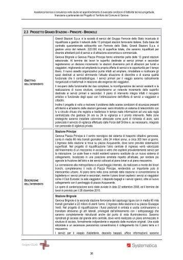 Progetto Grandi Stazioni - Urban Center - Comune di Genova