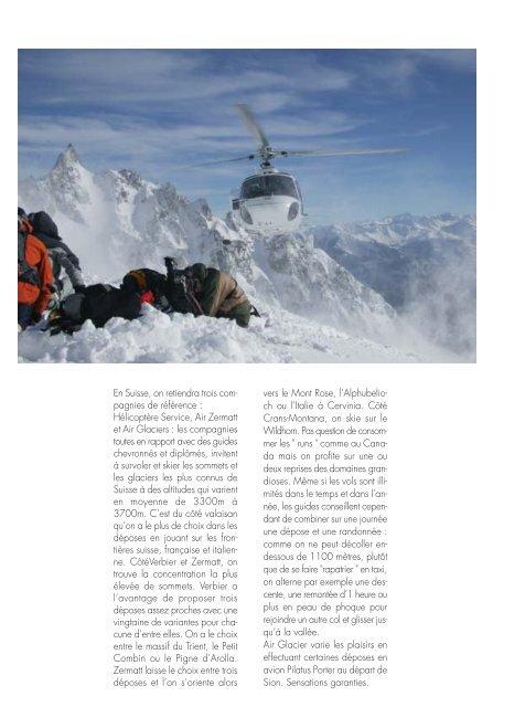Héliski - Magazine Sports et Loisirs