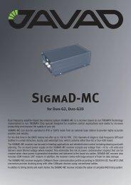 SigmaD-MC