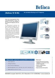 Belinea 10 80 15 Drivers for PC