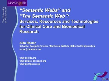 Semantic Web and Webs - WWW2006