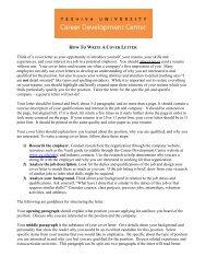 example cover letter - Institute for University-School Partnership