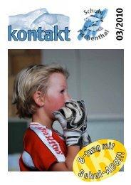 Der schnellste Fischenthaler 2010 - Die Schule Fischenthal