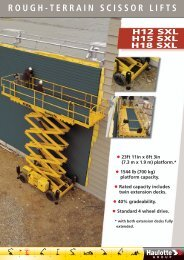 ROUGH-TERRAIN SCISSOR LIFTS - Ramirent