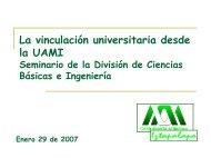 Dr. Juan José Ambríz - CBI - UAM
