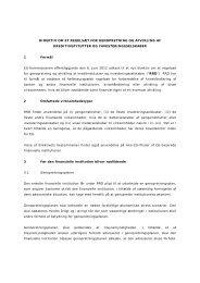 Direktiv om et regelsæt for genopretning og afvikling af ... - Plesner