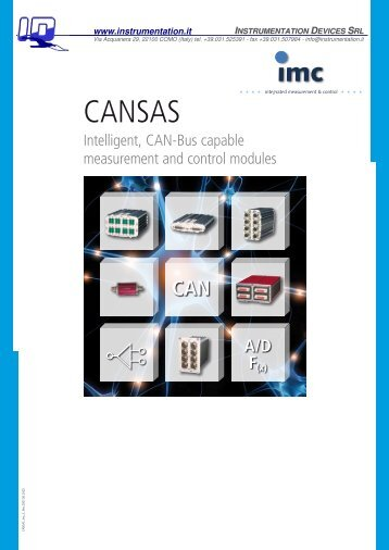 CANSAS - Instrumentation Devices