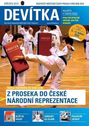 Březen 2010 - Praha 9