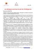 Premières Rencontres du dialogue social des secteurs ... - Suresnes - Page 3