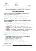 Premières Rencontres du dialogue social des secteurs ... - Suresnes - Page 5