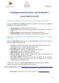 Premières Rencontres du dialogue social des secteurs ... - Suresnes - Page 6