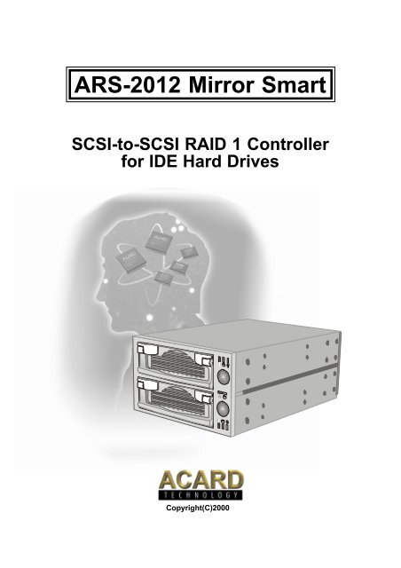 DOWNLOAD DRIVERS: ACARD ARS-3020M