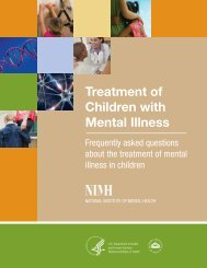 Treatment of Children with Mental Illness - NIMH - National Institutes ...