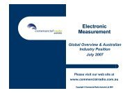 Electronic Measurement - Commercial Radio Australia