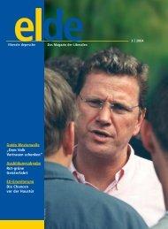 """Guido Westerwelle """"Dem Volk Vertrauen schenken - Elde Online"""