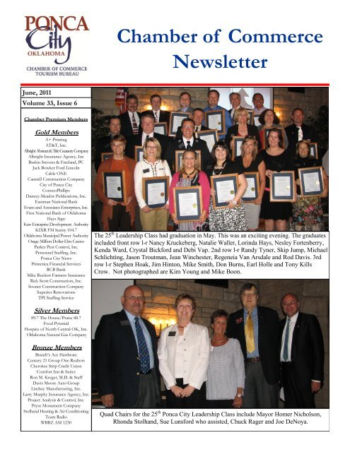 chamber of commerce newsletter ponca city chamber of chamber of commerce newsletter ponca