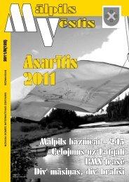 Nr. 8 (123) Augusts - Mālpils
