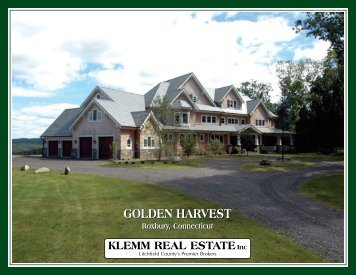 goLdEn hARvEST goLdEn hARvEST - Klemm Real Estate, Inc.