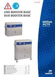 Bedienungsanleitung zum Download. UNO/DUO-Booster BASIC.