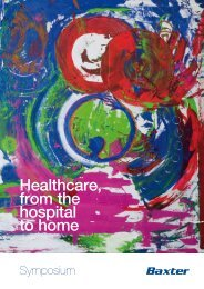 Healthcare, from the hospital to home