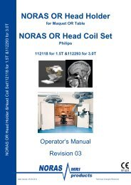 Manual 8 Ch Head Holder, Rev.3 PHILIPS - NORAS MRI products ...