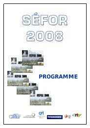 PROGRAMME - Organisation internationale de la Francophonie