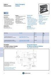 Battery Emergency Switches Batterie- Notausschalter ... - Schlemmer