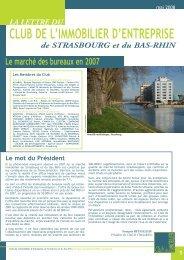 club de l'immobilier d'entreprise - Cellule Économique du Bâtiment ...