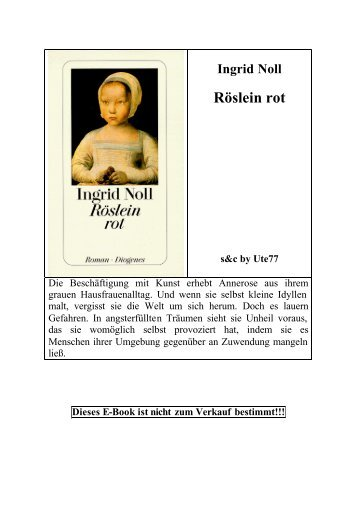 Ingrid Noll Röslein rot - Deutscher Klub