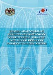 indeks akauntabiliti pengurusan kewangan kementerian/ jabatan ...