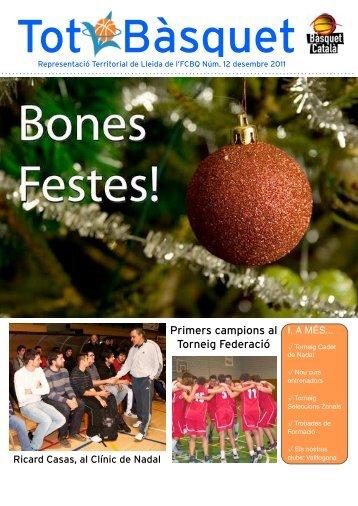 Revista núm. 12 (Desembre 2011) - Federació Catalana de ...