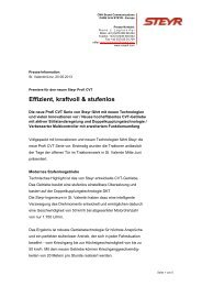 PI Steyr_Neue Profi CVT Serie_GER