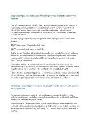 Požadavky na bezpečnost práce při provozu a údržbě drážních ...