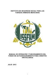 instituto de seguridad social para las fuerzas armadas ... - Issfam