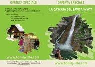 Offerta speciale - Bohinj