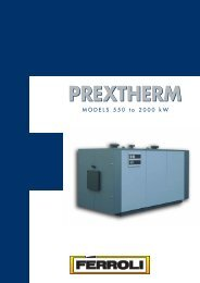 PREXTHERM 550-2000 - Ferroli