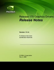 Release Notes (pdf) - Nvidia's Download site!!