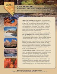 Arts and parks Parks, murals, oPera Houses, sHakesPeare ... - Ely