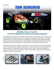 RC10B4.1 Factory Team Kit 1:10 Scale 2WD Electric Off Road ...