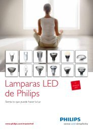 Lámparas y Tubos LED 2011 - Philips