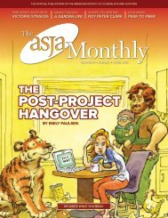 APRIL 26 - 28, 2012 - The ASJA Monthly