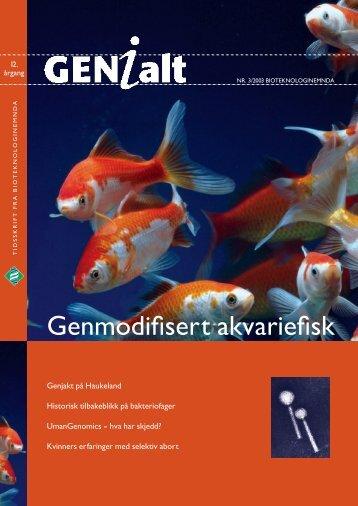 GENialt nr. 3/2003 - Bioteknologinemnda