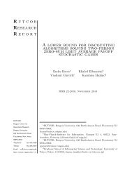 A Lower Bound for Discounting Algorithms Solving Two ... - Rutcor