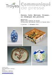 La céramique des peintres - Observatoire