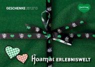 Geschenke-Folder 2012.indd - Die Edlseer