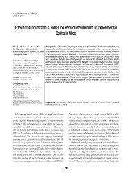 Effect of Atorvastatin, a HMG-CoA Reductase Inhibitor, in ...