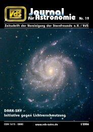 für Astronomie - VdS-Journal