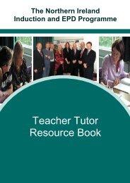 Teacher Tutor Resource Book - Belfast Education & Library Board