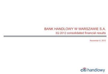 +1% - Citibank Handlowy